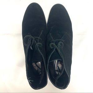 Dolce Vita Black Onyx Suede Leather Booties Heel 9